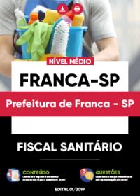 Fiscal Sanitário - Prefeitura de Franca-SP