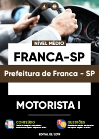 Motorista I - Prefeitura de Franca-SP