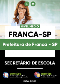 Secretário de Escola - Prefeitura de Franca-SP