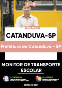 Monitor de Transporte Escolar - Prefeitura de Catanduva-SP