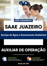 Auxiliar de Operação - SAAE Juazeiro
