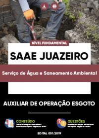 Auxiliar de Operação Esgoto - SAAE Juazeiro