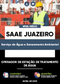 Operador de Estação de Tratamento de Água - SAAE Juazeiro