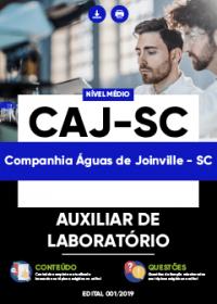 Auxiliar de Laboratório - CAJ-SC