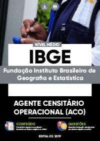Agente Censitário Operacional - IBGE