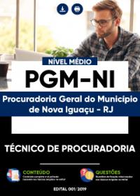 Técnico de Procuradoria - PGM-NI