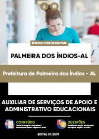 Auxiliar de Serviços - Prefeitura de Palmeiras dos Índios-AL