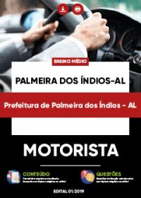 Motorista - Prefeitura de Palmeiras dos Índios-AL