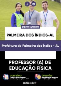 Professor de Educação Física - Prefeitura de Palmeiras dos Índios-AL