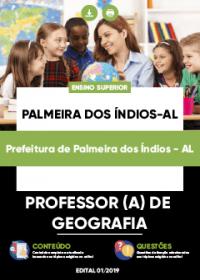Professor de Geografia - Prefeitura de Palmeiras dos Índios-AL