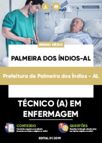 Técnico em Enfermagem - Prefeitura de Palmeiras dos Índios-AL