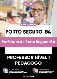 Professor Nível I - Pedagogo - Prefeitura de Porto Seguro-BA