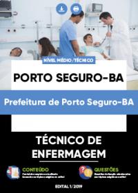 Técnico de Enfermagem - Prefeitura de Porto Seguro-BA