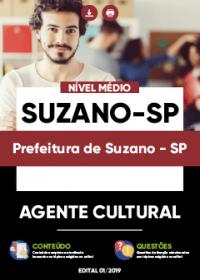 Agente Cultural - Prefeitura de Suzano-SP