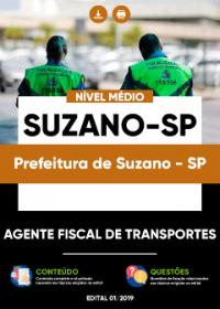 Agente Fiscal de Transportes - Prefeitura de Suzano-SP
