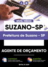 Agente de Orçamento - Prefeitura de Suzano-SP