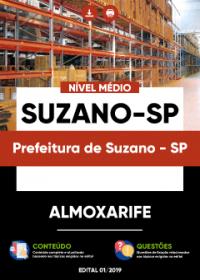 Almoxarife - Prefeitura de Suzano-SP