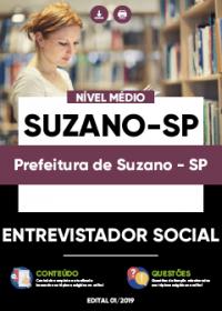 Entrevistador Social - Prefeitura de Suzano-SP