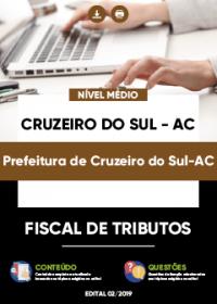 Fiscal de Tributos - Prefeitura de Cruzeiro do Sul-AC