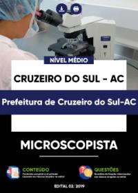 Microscopista - Prefeitura de Cruzeiro do Sul-AC