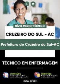 Técnico em Enfermagem - Prefeitura de Cruzeiro do Sul-AC