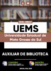 Auxiliar de Biblioteca - UEMS