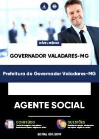 Agente Social - Prefeitura de Governador Valadares-MG