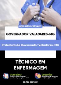 Técnico em Enfermagem - Prefeitura de Governador Valadares-MG