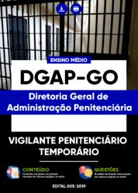 Vigilante Penitenciário Temporário - DGAP-GO