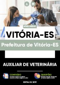 Auxiliar de Veterinária - Prefeitura de Vitória-ES
