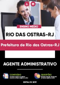 Agente Administrativo - Prefeitura de Rio das Ostras-RJ