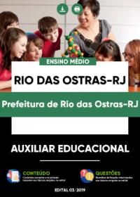 Auxiliar Educacional - Prefeitura de Rio das Ostras-RJ