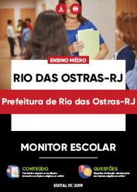Monitor Escolar - Prefeitura de Rio das Ostras-RJ