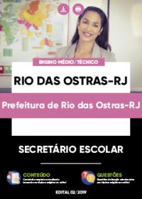 Secretário Escolar - Prefeitura de Rio das Ostras-RJ