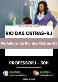 Professor I - Prefeitura de Rio das Ostras-RJ