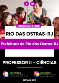 Professor II - Ciências - Prefeitura de Rio das Ostras-RJ