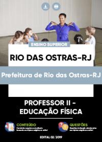 Professor II - Educação Física - Prefeitura de Rio das Ostras-RJ