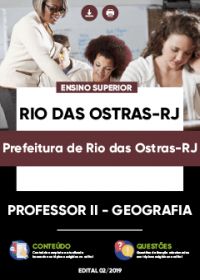Professor II - Geografia - Prefeitura de Rio das Ostras-RJ