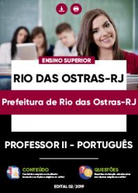 Professor II - Português - Prefeitura de Rio das Ostras-RJ