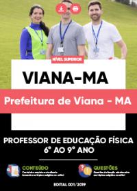 Professor de Educação Física 6º ao 9º Ano - Prefeitura de Viana-MA