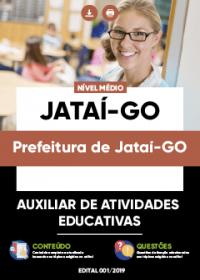 Auxiliar de Atividades Educativas - Prefeitura de Jataí-GO