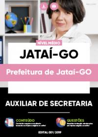 Auxiliar de Secretaria - Prefeitura de Jataí-GO