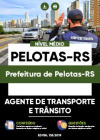 Agente de Transporte e Trânsito - Prefeitura de Pelotas-RS