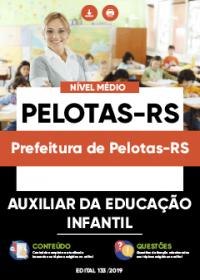 Auxiliar da Educação Infantil - Prefeitura de Pelotas-RS