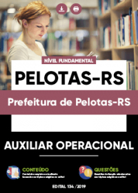 Auxiliar Operacional - Prefeitura de Pelotas-RS