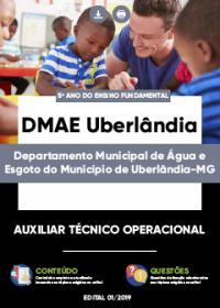 Auxiliar Técnico Operacional - DMAE Uberlândia-MG