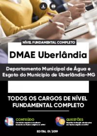 Todos os Cargos de Nível Fundamental Completo - DMAE Uberlândia-MG