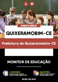 Monitor de Educação - Prefeitura de Quixeramobim-CE