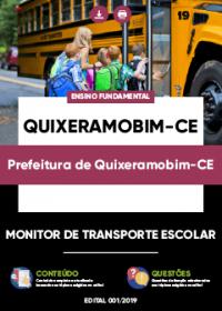 Monitor de Transporte Escolar - Prefeitura de Quixeramobim-CE