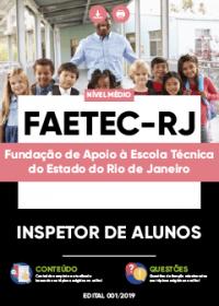 Inspetor de Alunos - FAETEC-RJ